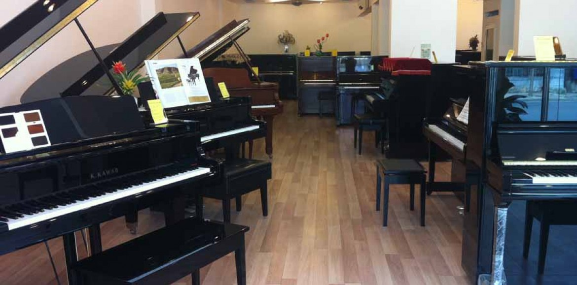 Những cửa hàng bán piano uy tín