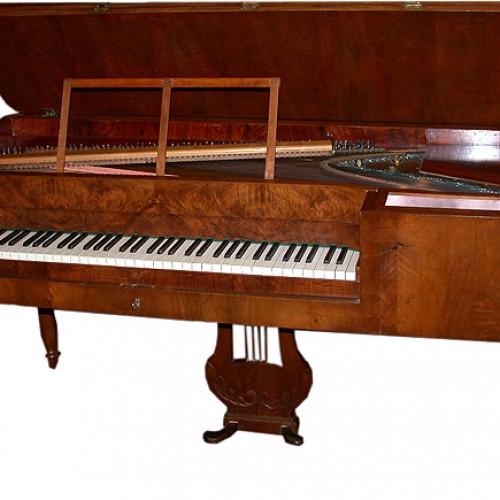 Lịch sử đàn piano vuông