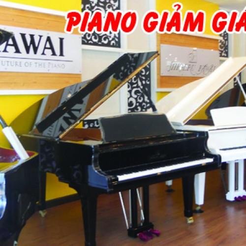 Danh sách đàn piano khuyến mãi tháng 12-2015