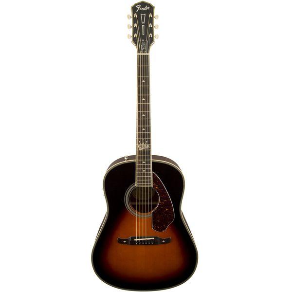 """Guitar Fender Ron Emory """"Loyalty"""" Slope Shoulder Dreadnought"""