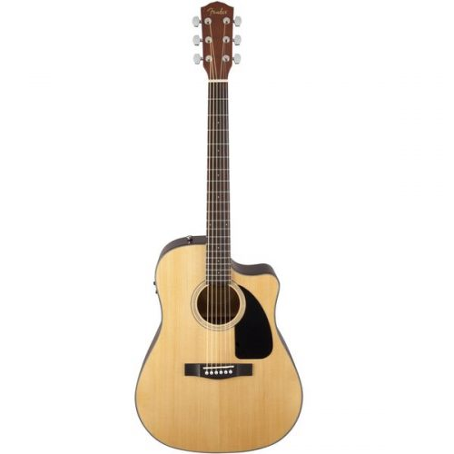 Đàn Guitar Fender CD-60CE (w Case) Dreadnought cutaway