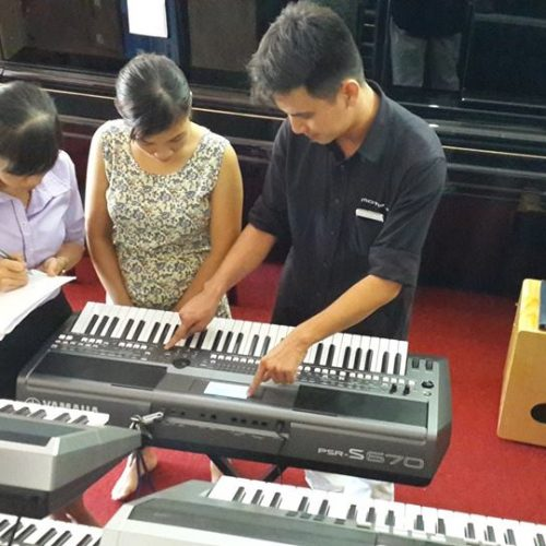 Những yếu tố chính chọn mua đàn organ cho người mới học