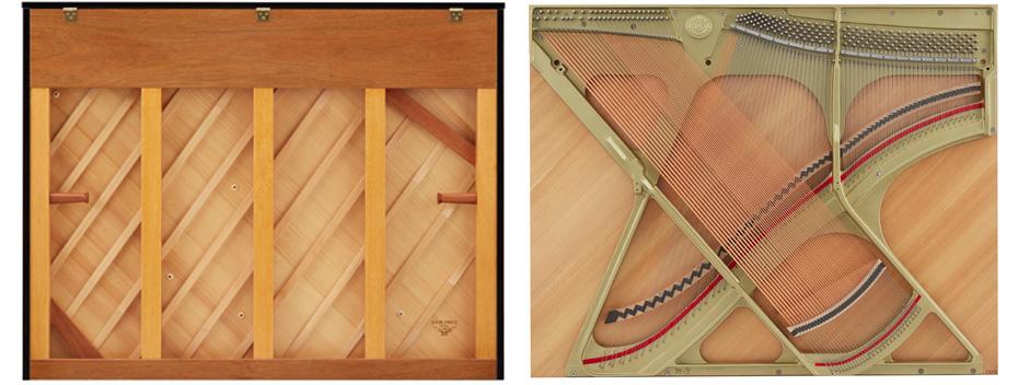 soundboard piano kawai k400