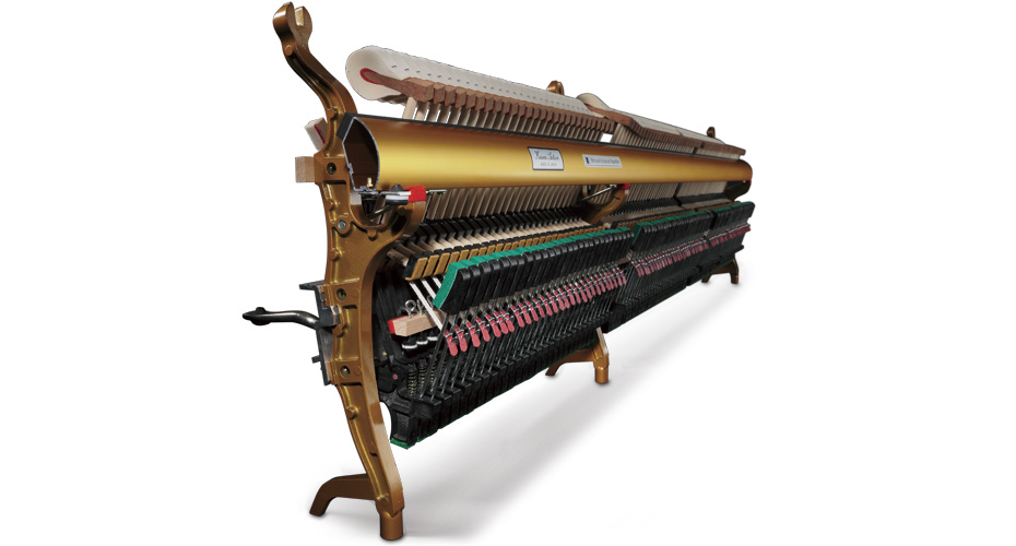 Bộ cơ đàn upright piano Millennium III