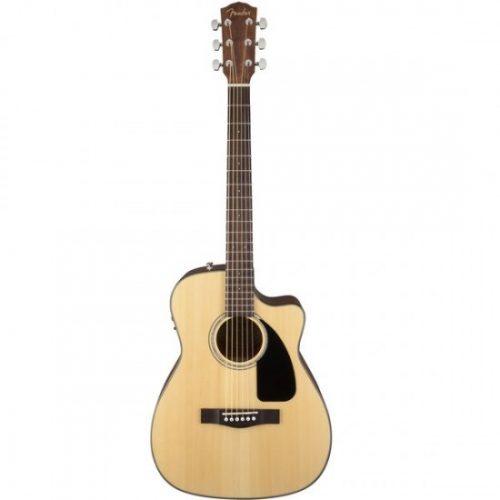 Shop bán đàn guitar Fender CF-60ce Folk (W Case)