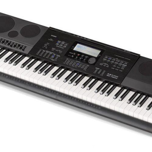 Bán đàn Organ Casio WK-7600 dùng cổng USB có 76 phím