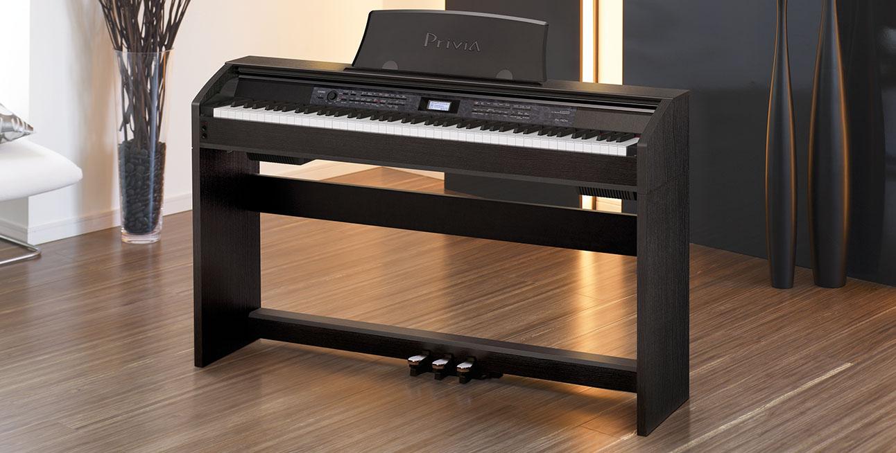 Đàn piano điện Casio PX-780 âm thanh gần giống piano cơ