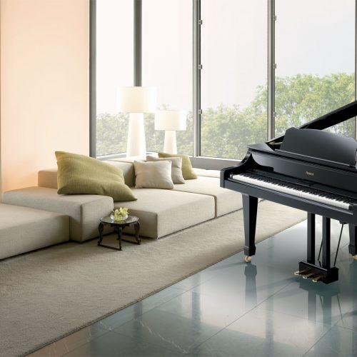 Đàn piano điên Roland RG-3F – Đàn piano điện kiểu dáng Grand Mini